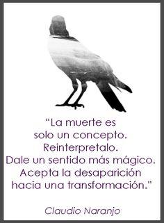 La muerte como transformación. Claudio Naranjo