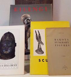 Tribal African Art books four (4) bundle lot - Kota Mask Figure Sculpture Statue