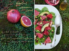 The Forest Feast Breaks Down Dishes By Way of Illustrations #summer #salad trendhunter.com