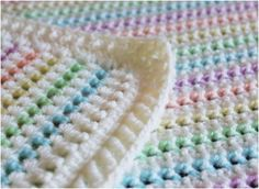 Crochet Afghans Ideas Made in K-town: Starlight Baby Blanket Pattern - My Crochet Creations and Free Crochet Patterns: Enjoy the whole Crochet SheBang! Crochet Baby Blanket Free Pattern, Crochet Stitches Patterns, Crochet Afghans, Knit Crochet, Crochet Blankets, Baby Blanket Patterns, Double Crochet Baby Blanket, Baby Afghans, Fleece Blankets