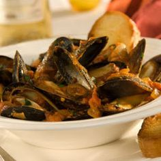Mediterranean Mussels With Wine Recipe   Yummly