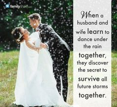 When a husband and wife learn to dance under the rain together, they discover the secret to survive all future storms together. The Notebook Quotes, Under The Rain, Learn To Dance, Deep Love, God Is Good, Couple Photography, Wedding Styles, Wedding Ideas, Wedding Bells