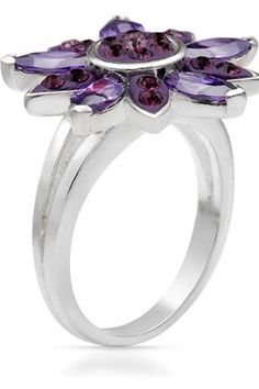 $35.50 - 3.75 CTW Cubic Zirconia Sterling Silver Ring
