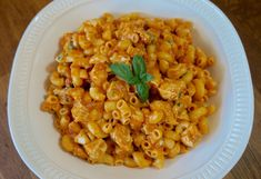 Tomato Mac and Cheese with Chicken - FlavorFinds.com