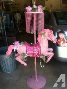 Rocking Horse Plans, Carosel Horse, Horse Lamp, Work Family, Unicorn Party, Pretty In Pink, Interior Decorating, Pink Stuff, Carousels