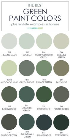 Green Paint Colors, Kitchen Paint Colors, Wall Paint Colors, Paint Colors For Home, Best Paint Colors, House Colors, Dining Room Paint Colors, Best Paint For Walls, Green Gray Paint