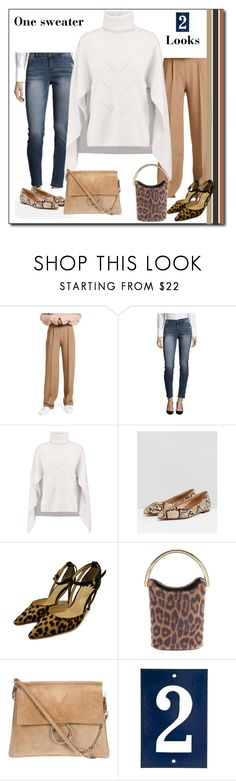 """One sweater, two looks"" by colonae ❤ liked on Polyvore featuring Theory, Jones New York, Sandro, ASOS and STELLA McCARTNEY"
