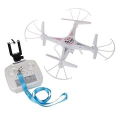 WESTLINK FPV Drone RC Quadcopter with WIFI HD 2MP Camera LED Light 4CH 24G 6 Axis 3D Rolling  extra 1pc battery ** More info could be found at the image url.