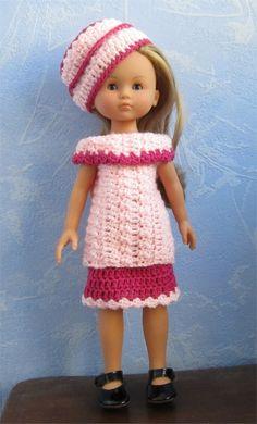 PatronTenue au crochet pour Chérie, Paola Reina ou Little Darling