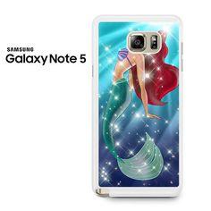 Ariel Little Mermaid Galaxy Galaxy Note 5 Case