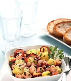 L'insalata di polpo