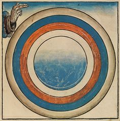 The first five days of creation according to the book of Genesis. From The Nuremberg Chronicle circa 1493 / Day 3