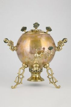 """Samovar-sphere """"Spider"""" The body is in the shape of a sphere with ..."""