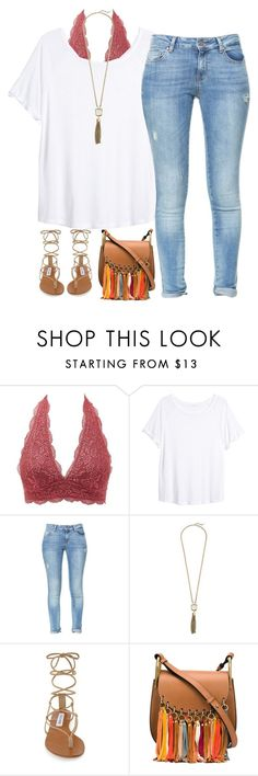 """""""let it go"""" by kaley-ii ❤ liked on Polyvore featuring Charlotte Russe, H&M, Zara, Cole Haan, Steve Madden and Chloé"""