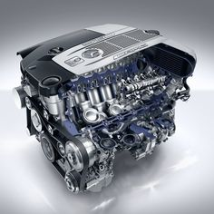 Mercedes Benz AMG V-12 engine