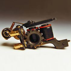High Quality Hand-made Luo's Cast Iron Tattoo Machine