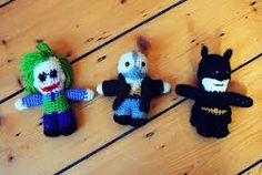 Crochet Batman dolls. HAHA so cute.