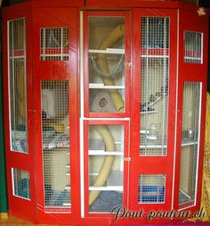 Ferret cage of awesomeness.
