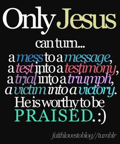 Only Jesus!