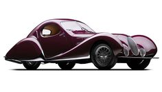 A classic example of French coachbuilding, the 1937 Talbot-Lagos may be the most beautiful car in the world. (=)