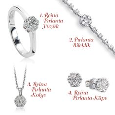 Zen Pırlanta; Reina Pırlanta Kolye, Reina Pırlanta Yüzük, Reina Pırlanta Küpe, Reina Pırlanta Bileklik #diamond #gold #carat #ring #bracelet #necklace #earring #style #classic