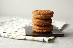 Whimsy & Spice Peanut Butter Sandwich Cookies with Massaman Curry Spices.