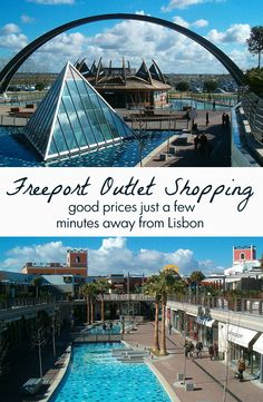 With over ² Freeport is the largest outlet in Europe is close to Lisbon and has shops to suit all tastes, from clothing to decor. Online Travel, Algarve, Lisbon, Marina Bay Sands, Family Travel, Travel Guide, Portugal, Things To Do, Shops