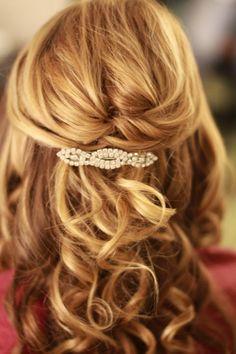 15 Half Up Half Down Wedding Hairstyles-title