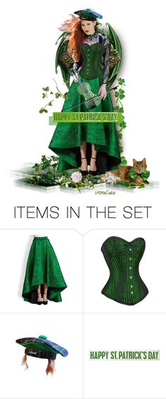 """""""Happy St. Patrick's Day ♥"""" by ultracake ❤ liked on Polyvore featuring art"""