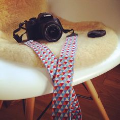 Kameraband Freebook von farbenmix Canon, Camera, Crafting, Cannon