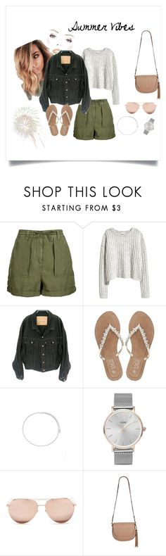 """Summer"" by misstoffyy on Polyvore featuring Topshop, Levi's, M&Co, Forever 21, CLUSE, Linda Farrow and Envy"