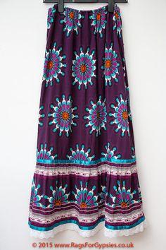 Mandala Gypsy Long Skirt Alternative Fashion by RagsForGypsies
