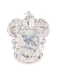 Harry Potter Ravenclaw Crest Pewter Pin @ niftywarehouse.com #NiftyWarehouse #HarryPotter #Wizards #Books #Movies #Sorcerer #Wizard