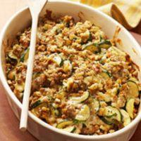 Italian Zucchini & Sausage Casserole