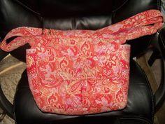 Vera Bradley Retired Sherbet Carryall Bag Purse Tote EUC #VeraBradley #ShoulderBag