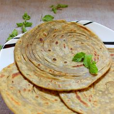 ... about Bread types on Pinterest | Paratha recipes, Flat bread and Rotis