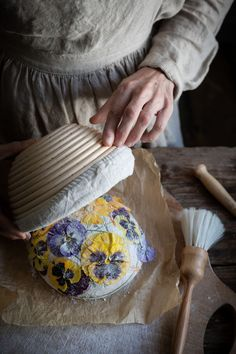 Sourdough Recipes, Sourdough Bread, Bread Recipes, Bread Art, Bread And Pastries, Edible Flowers, Artisan Bread, Daily Bread, How To Make Bread