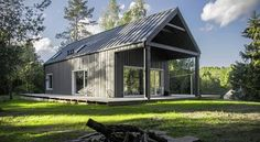 Lithuanian Hunting Cabin by Devyni Architects 1