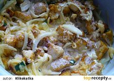 Cauliflower, Spaghetti, Meat, Chicken, Vegetables, Ethnic Recipes, Food, Cauliflowers, Essen