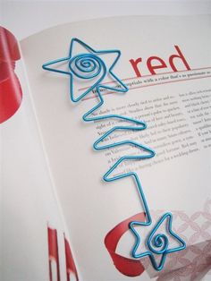 Designed Wire Art Bookmark    Each bookmark is individually shaped by hand and is finished with a protective coating. It is lightweight and