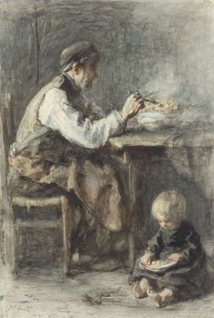 De schoenmaker, Jozef Israëls, 1834 - 1911