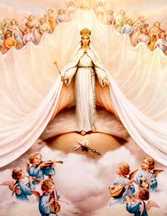 8/22: Christian feast of Our Lady, Queen of Angels | Te Deum: The Queenship of Mary