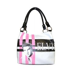 Elvis Presley Faux Leather Medium Purse, Two Way Style Elvis Presley, Mochila Nike, Snoopy T Shirt, Blue Suede Shoes, Military Discounts, Travel Tote, White Casual, Tote Purse, Kid Shoes