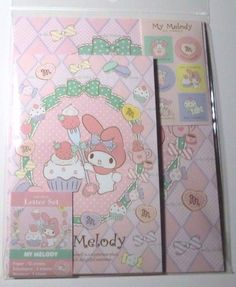Sanrio My Melody Mymelo Letter Set Brand New #Sanrio