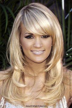 Thick Hair Long Layered Medium Haircuts So Nice Blonde   Free
