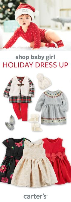 Shop baby girl dresses, outfit sets, accessories + more!