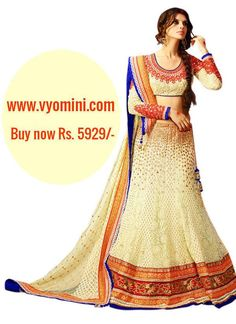#VYOMINI - #FashionForTheBeautifulIndianGirl #MakeInIndia #OnlineShopping #Discounts #Women #Style #EthnicWear #OOTD #Onlinestore  Only Rs 6751/-, get Rs 822/- #CashBack,  ☎+91-9810188757 / +91-9811438585..#Bipasha