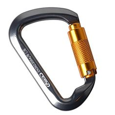 AYAMAYA Locking Climbing Carabiners Ultra Tech 30KN Aluminum Auto Locking Carabiners Twist Lock Dring Chain Clip Hook Outdoor Buckle ** Want additional info? Click on the image.