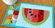 5 Summer Mug Rug Patterns - Quilting Digest
