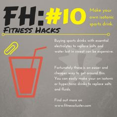 #fitness #sports #drinks #food #health